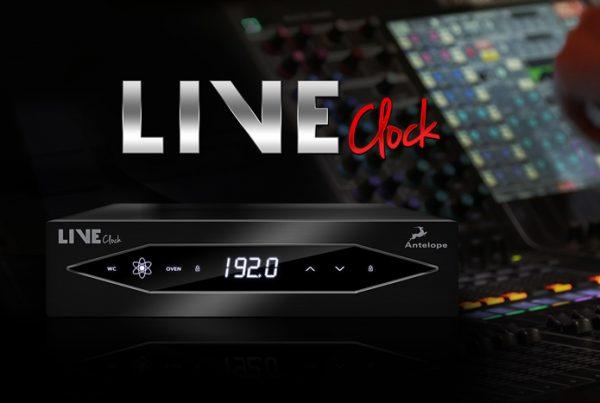LIVE CLOCK - portable audio master clock