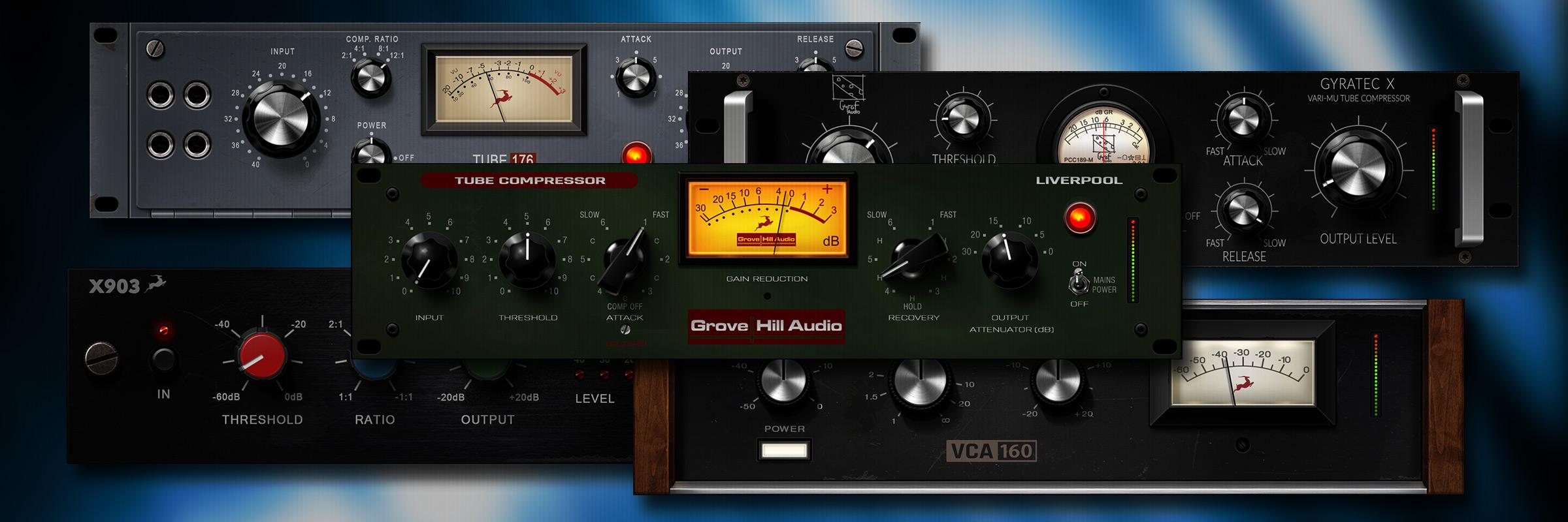 五款新的压缩器FX,只在Antelope Audio有售